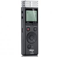 爱国者(aigo)录音笔 R5503 16G 微型 专业远距离录音 学习会议/会议采访 智能降噪 迷你 72小时录音 黑色