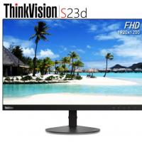 联想(ThinkVision)电脑显示器 高清液晶显示屏 S23d 22.5英寸 IPS 1920*1200