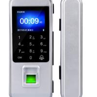 科密E5玻璃门指纹锁办公室智能门禁机