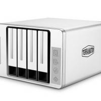 TERRAMASTER铁威马D5磁盘阵列柜USB3.0支持RAID5阵列硬盘柜