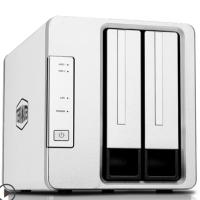 TERRAMASTER铁威马F2-210网络存储办公nas文件服务器 无硬盘
