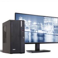 Acer/宏碁 商祺SQV4270 商用办公台式电脑整机(G4900 双核 4G 1T 19.5英寸显示器)
