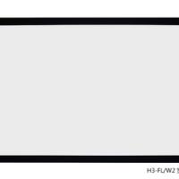 JK经科 H3-FL/W2美国进口高清4K3D投影窄边隐形无边框画框软幕布