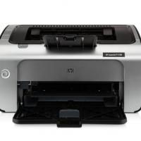 HP惠普P1108黑白激光打印机小型迷你学生家庭作业家用A4办公凭证纸打印