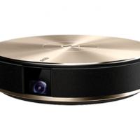 坚果(JmGO)E9家用全高清1080p迷你3d办公便携投影机