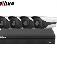 大华dahua监控设备套装摄像头家用手