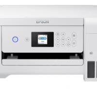 爱普生(EPSON)墨仓式L4166 (优雅白)彩色无线多功能一体机