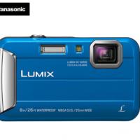 松下(Panasonic)TS30数码相机/运动相机/四防相机 防水、防尘、防震、防冻 TS25升级版 蓝色