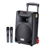 飞达(fidek) 广场舞音响播放器户外演出跳舞音箱带无线话筒蓝牙大音量拉杆移动专业唱K歌大功率音响 12寸标准版