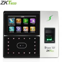 中控智慧(ZKTeco) IFace702人脸识别考勤机面部指纹打卡机