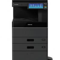 东芝(TOSHIBA)FC-2010AC多功能彩色数码复合机A3激光双面打印复印扫描e-STUDIO2010AC+输稿器+双纸盒工作台