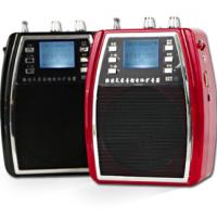 山禾SHDZ 小蜜蜂无线扩音器教师教学腰挂大功率唱戏机