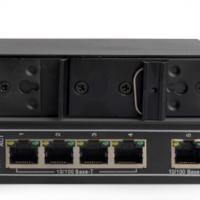 dahua 大华监控安防工业级交换机5口 8口 16口 24口网络监控传输器监控摄像头百兆千兆交换器 5口百兆DH-IS1000C-5ET-DC