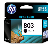 HP惠普打印旗舰店官方原装803黑色墨盒彩色墨水盒deskjet2132 2131 1112 1111 2621 2622 2623打印机