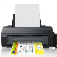 爱普生Epson L1300高速图形设计专用打印机 A3+大幅面 墨仓式彩色高速CAD线条图纸打印