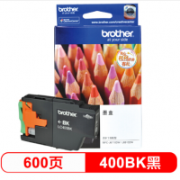 兄弟(brother)LC400BK 黑色墨盒