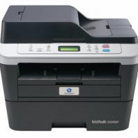 柯尼卡美能达 KONICA MINOLTA 3000MF黑白激光打印机 柯美复印机