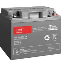 山特(SANTAK)免维护蓄电池 C12-38 12V38AH UPS电源蓄电池 山特UPS电池