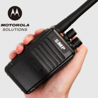 摩托罗拉(Motorola) smp418对讲机商用民用手台无线大功率1-50公里非一对 标配