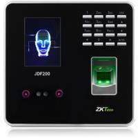 中控智慧(ZKTeco)人脸指纹混合识别考勤机 免软件打卡机JDF200