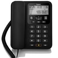 集怡嘉(Gigaset)原西门子 DA160 电话机座机商务办公家用电话机固话大按键商用电话机 黑色