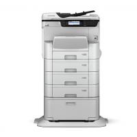 爱普生(EPSON)WF-C8690a A4/A3+彩色喷墨仓大中型办公数码复合机 含4个纸盒+工作台(