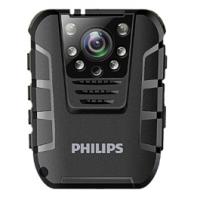飞利浦(PHILIPS) 执法记录仪高清红外夜视便携现场记录仪不间断高清1080P录像 VTR8100